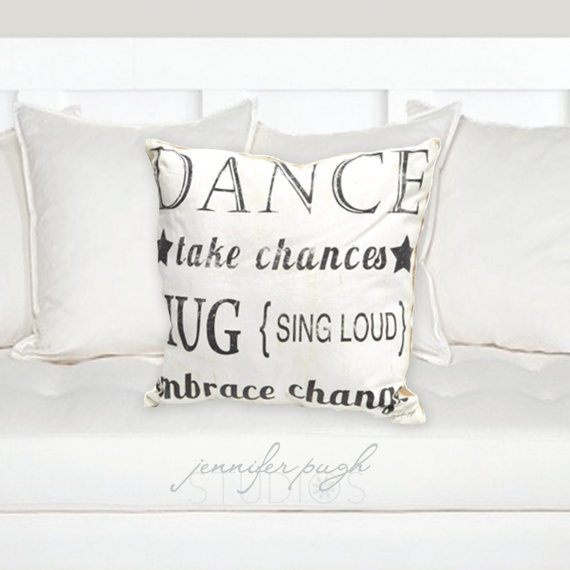 Dance Pillow by Jennifer Pugh Studios.
