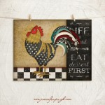 Kitchen Cuisine_Rooster__11x14_002_A