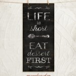 LIfe is short_8x18_A