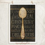 Spoon Subway Art Print by Jennifer Pugh.