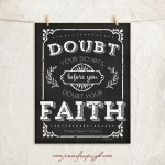 Doubt your Doubts 11x14 A