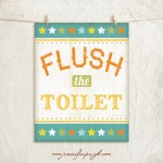 Flush the Toilet_11x14_A