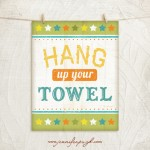 Hang up your towel_11x14_A