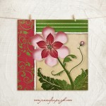 JP1717_Pink & Green Flower_12x12_A