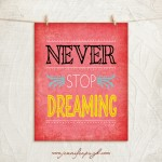 Never Stop Dreaming_11x14_A