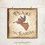 Peace on Earth Giclee Art Print by Jennifer Pugh.