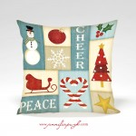 Christmas_Collage_002_blue_001_Pillow_by_Jennifer_Pugh