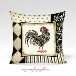 Classic_Rooster_002_Cx_Pillow_by_Jennifer_Pugh