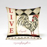 Classic_Rooster_004_Pillow_by_Jennifer_Pugh