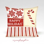 JP2827_Candy Cane_Happy Holiday_12x12_Pillow_by_Jennifer_Pugh