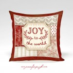 Joy to the World_red_12x12_Pillow_by_Jennifer_Pugh