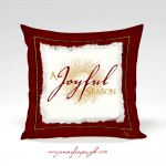 Joyful Season_Pillow_by_Jennifer_Pugh