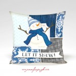 Let it Snow_Snowman_12x12_001_Pillow_by_Jennifer_Pugh