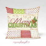Merry Christmas_Red_Green_001_12x12_Pillow_by_Jennifer_Pugh