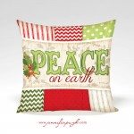 PEACE_Red_Green_001_12x12_Pillow_by_Jennifer_Pugh