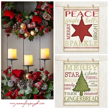 Christmas Rooms 4 Holiday Decorating Ideas -Wreath