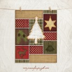 Christmas Joy Tree 11x14 Giclee Art Print by Jennifer Pugh.