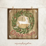 Merry Christmas Giclee Art Print