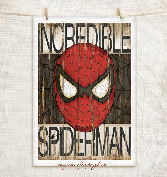 Spiderman 12x18 GIclee Art Print