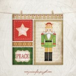 Nutcracker Giclee Art Print by Jennifer Pugh.