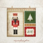 Nutcracker III Giclee Art Print by Jennifer Pugh.