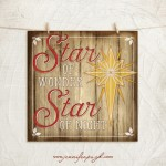 Star of Wonder Giclee Art Print by Jennifer Pugh.
