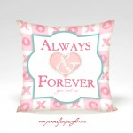 Always & Forever Valentine Pillow