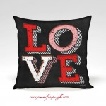 Love Valentine Pillow