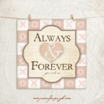 Always & Forever giclee fine art print by Jennifer Pugh