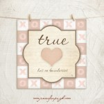 True Love giclee fine art print by Jennifer Pugh.
