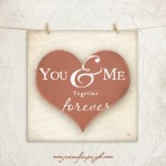 You & Me giclee fine art print by Jennifer Pugh.