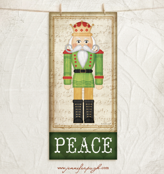Nutcracker II Art Print by Jennifer Pugh