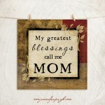My Greatest Blessings giclee art print by Jennifer Pugh.