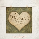 Mother's Love giclee art print by Jennifer Pugh.