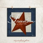 Freedom giclee art print by Jennifer Pugh.