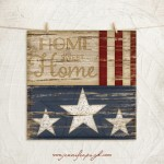 Home Sweet Home giclee art print by Jennifer Pugh.