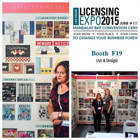 Art Licensing Expo with Jennifer Pugh Studios