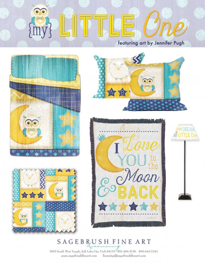 My Little One Collection includes many fun accessories for children's bedrooms such as pillows, blankets, comforters, lamps and more.