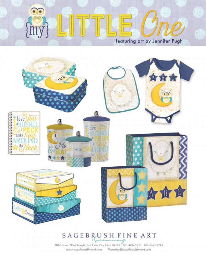 My Little One Collection includes many fun accessories for children including bibs, clothing, lunch boxes, gift bags and more.