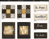 black white gold collection by Jennifer Pugh Studios.