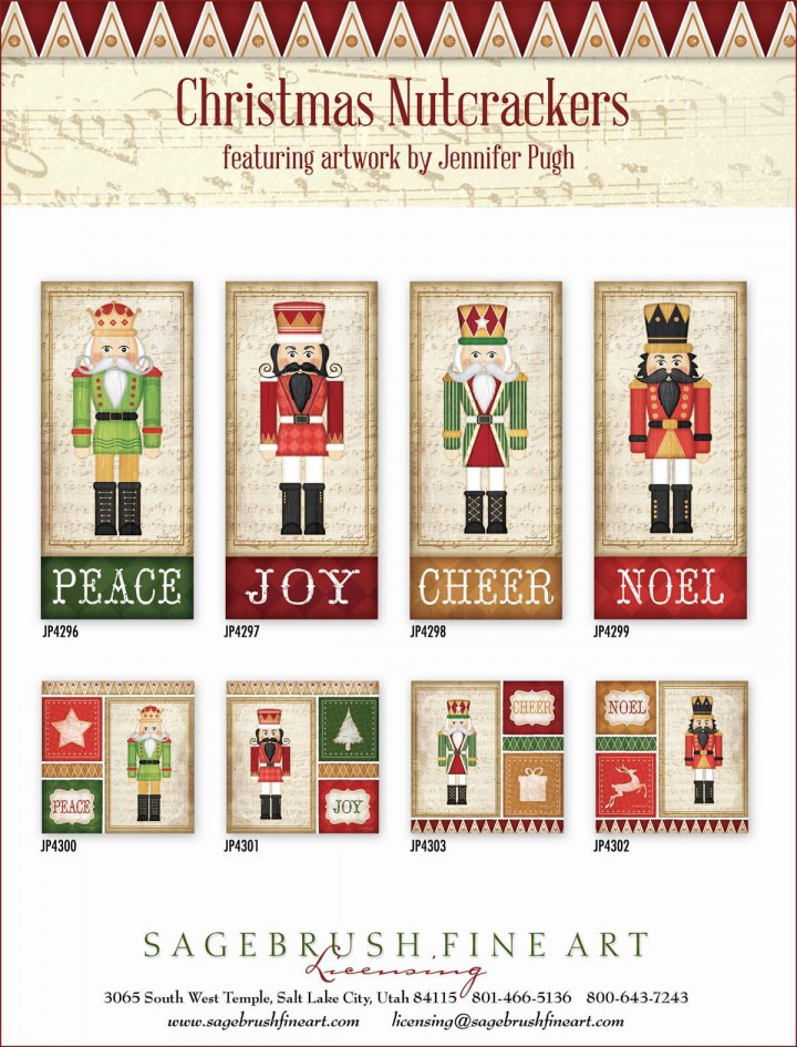 Christmas Nutcrackers collection -prints.