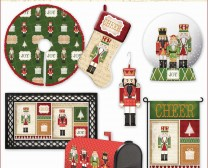 The Christmas Nutcrackers Collection includes stockings, decoratiions, mailboxes and more.