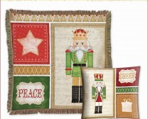 Christmas Nutcrackers Collection. Mockup of products including Jennifer Pugh Studios products.
