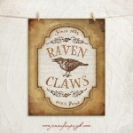 Raven Claws giclee art print by Jennifer Pugh Studios.
